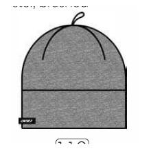 Bonnet FOCA KV+ liserets noirs