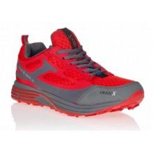 Mahave Rouge chaussures marche nordique