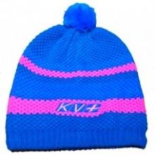 Bonnet St Moritz by KV+ bleu-rose
