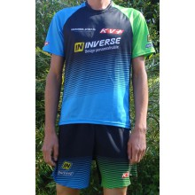 "Maillot trail Inverse ""Team KV+"" Coolmax"
