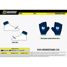 Réalisation gants cyclistes